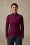 英國RAB Flux Pull-On 保暖排汗衣 女款 醬果紫