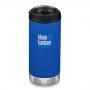 Klean Kanteen 12盎司/355ml-TKWide寬口不鏽鋼保溫瓶-DSM海底藍