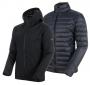 Mammut 長毛象 Convey 3 in 1 HS Hooded Jacket 男款 GTX兩件式防水保暖外套 黑