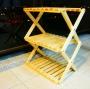JIA LORNG嘉隆 木製收疊式三層置物架 優惠價