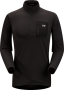Arc'teryx Rho LT Zip Neck 男款 黑(L)