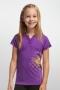 Icebreaker 太陽花圓領短袖羊毛排汗衣 兒童款 紫