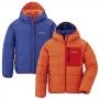 Mont-bell Thermawrap 大童連帽兩面穿化纖外套 1101524 藍/橘 130cm