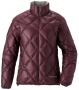 Mont-bell LT Alpine Down Jacket女款羽絨夾克 紅棕BURG  M