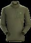 Arc'teryx Rho LT Zip Neck 男款 刷毛內層長袖套頭衫 爪依綠(2018新品)