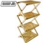 JIA LORNG嘉隆 木製收疊式四層置物架 優惠價