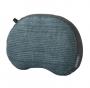 Air Head 化纖充氣枕 加大 藍灰