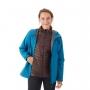 Mammut Convey 3 in 1 HS Hooded Jacket 女款 GTX兩件式防水連帽保暖外套 藍寶石/鹿棕