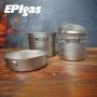 EPI 鈦BP炊具組 二鍋二蓋 T-8007