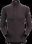 Arc'teryx Phase AR Zip Neck LS 男款長袖拉練 碳黑(零碼/微NG品)