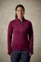 英國RAB Power Stretch Pro Pull-On 保暖排汗衣 女款 醬果紫