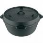 Petromax ft12-t Dutch Oven 鑄鐵荷蘭鍋14吋 (平底)