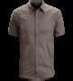 Arc'teryx 始祖鳥 Ridgeline Shirt 男短襯衫-食鹽灰 M一件