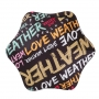 Blunt XS_METRO UV+ 完全抗UV隔熱折傘 台灣限量版:愛天氣(二年保固,附晶片口袋)