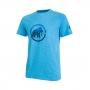 Mammut 長毛象 Trovat T-shirt 男款 短袖排汗衣 帝國藍