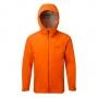 英國RAB Kinetic Alpine Jkt 高透氣彈性防水連帽外套 男款 爆竹橘