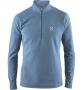 Haglofs Celestial Top 半開襟刷毛保暖衣 男款-亞洲版  灰藍(S, M, L)