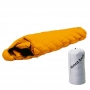 Mont-bell DOWN HUGGER 800FP #2 -6℃ 超彈性斜紋輕量鵝絨睡袋 葵黃 重約735g。1121290