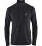 Haglofs Celestial Top 半開襟刷毛保暖衣 男款-亞洲版  黑 XL 一件