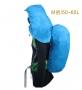 ADISI 連帽防水背包套AS16072 藍/M號 50~60L