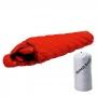 Mont-bell DOWN HUGGER 800FP #1 -12℃ 超彈性斜紋輕量鵝絨睡袋 橘 重約949g。1121289