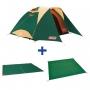 Coleman 4-5人TOUGH透氣圓頂露營帳3025 綠 限量套裝組 出清價+送原廠獨立筒充氣床墊(庫存1組)
