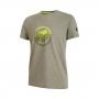 Mammut 長毛象 Trovat T-shirt 男款 短袖排汗衣 綠鬣蜥