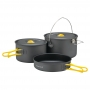 Mont-bell Alpine Cooker 16+18 Pan Set 二 ~ 四人寬口鋁合金鍋具 1.5L/2.0L