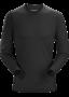 Arc'teryx Phase SL Crew LS 男款 輕薄長袖圓領排汗衣 黑