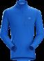 Arc'teryx Rho LT Zip Neck 男款 刷毛內層長袖套頭衫 恆星藍(2018新品)