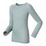 Odlo Shirt L/S Crew Neck WARM保暖排汗衣 兒童款 灰 (80-152cm)