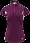 Arc'teryx Kapta Zip 女款短袖排汗衣 紫斑 M號