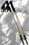 Komperdell 經典鈦金避震可鎖定長握把登山杖 17423881-10 (一對販售)