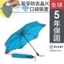 Blunt XS_METRO UV+ 完全抗UV系列 折傘 風格藍(5年保固,附晶片口袋)