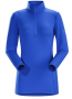 Arc'teryx Phase AR Zip 女款長袖排汗衣 冰島藍