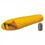 Mont-bell DOWN HUGGER 800FP #2 -6℃ 超彈性斜紋輕量鵝絨睡袋 葵黃 重約733g。1121359
