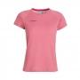 Mammut 長毛象 Aegility T-Shirt 女款 短袖圓領排汗衣(亞洲版) 夕陽紅