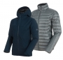 Mammut 長毛象 Convey 3 in 1 HS Hooded Jacket 男款 GTX兩件式防水保暖外套 海洋藍