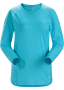 Arcteryx Tolu Top LS 女款輕薄長袖排汗衣 峽灣藍 (2019新款)