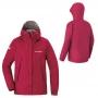 Mont-bell Rain Hiking 女款 DRY-TEC™輕量防水透氣風雨衣 1128601-OPERA/紅