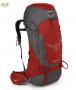 Osprey Volt 60 男款輕量健行背包 紅