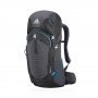 Gregory Zulu 55L 男款 網架型輕量健行背包 臭氧黑 M/L