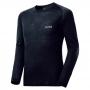 Mont-bell SPMW M.W. R-N Shirt 男款 中厚手 美麗諾羊毛長袖圓領保暖內搭衣 黑