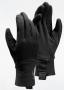 Arc'teryx Rivet AR Glove 保暖防風透氣彈性手套Black黑 零碼出清(L一雙)