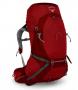 Osprey Atmos AG 50 男款超輕量健行背包 M 紅