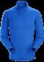 Arc'teryx Phase AR Zip 男款 保暖內層長袖套頭衫 恆星藍