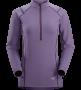 Arc'teryx Ensa Zip LS 女款拉鍊長袖排汗衣 水晶紫