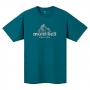 Mont-bell Wickron T Dot Logo 短袖排汗T恤 男款 #1114471 DKMA深野鴨綠