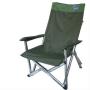 Outdoorbase 高原高背休閒摺疊椅 綠光 25056(舊款出清,庫存1張)