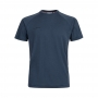 Mammut 長毛象 Aegility T-Shirt 男款 短袖圓領排汗衣(亞洲版) 海洋藍